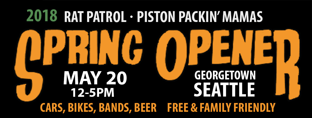 Spring Opener - May 21 - noon to 5pm